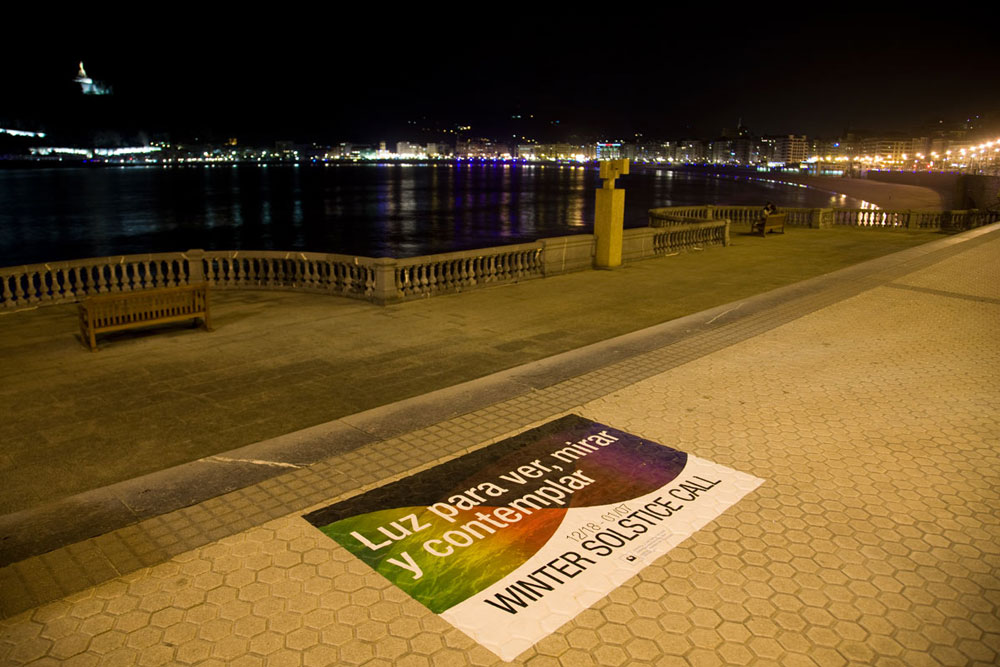 Lighting Design Festival Donostia San Sebastian, Spain