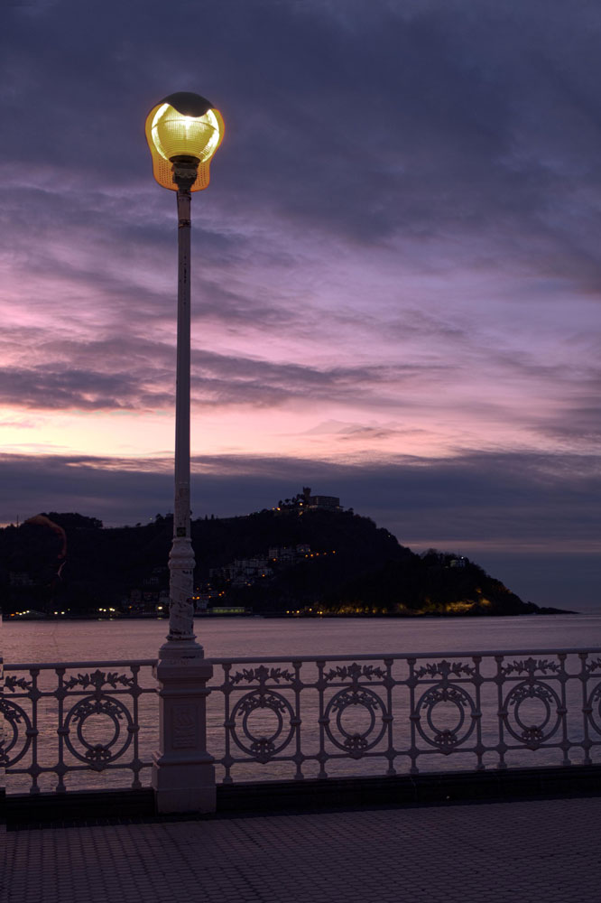 Light Art Donostia San Sebastian, Spain