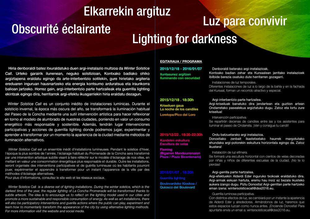 Light Festival Donostia San Sebastian, Spain